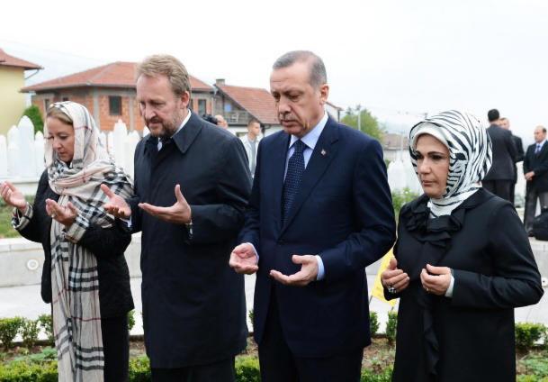 Image result for izetbegović erdogan