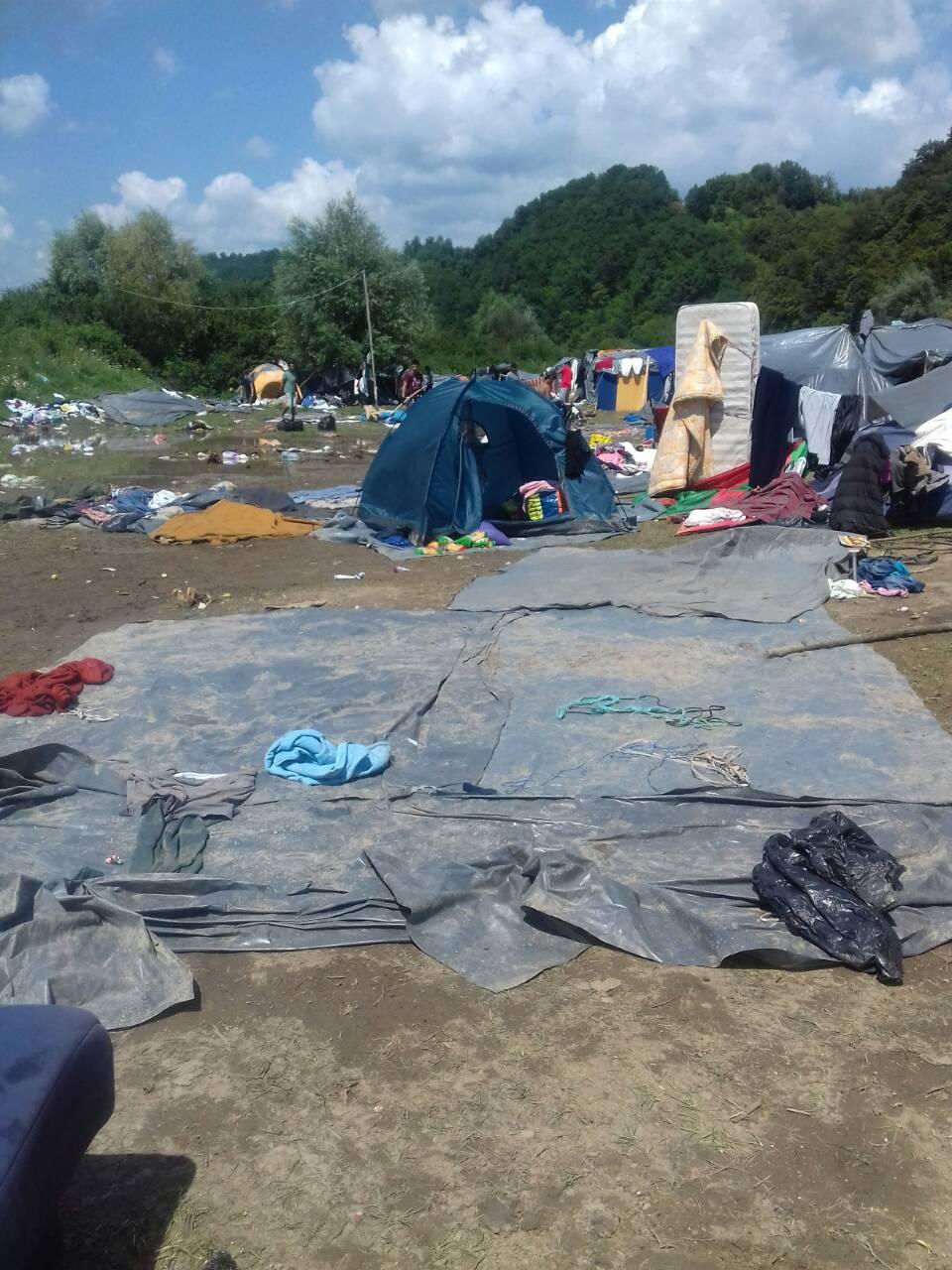 Migrantski kamp u Velikoj Kladuši