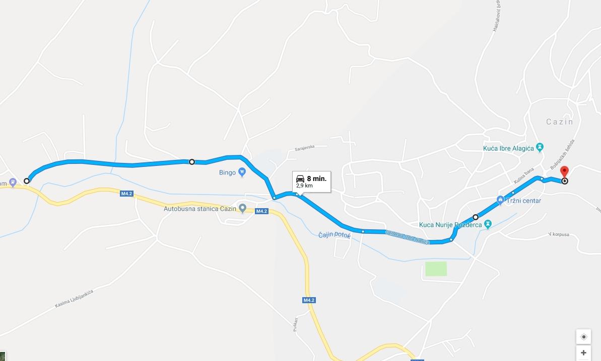 Trasa maratona