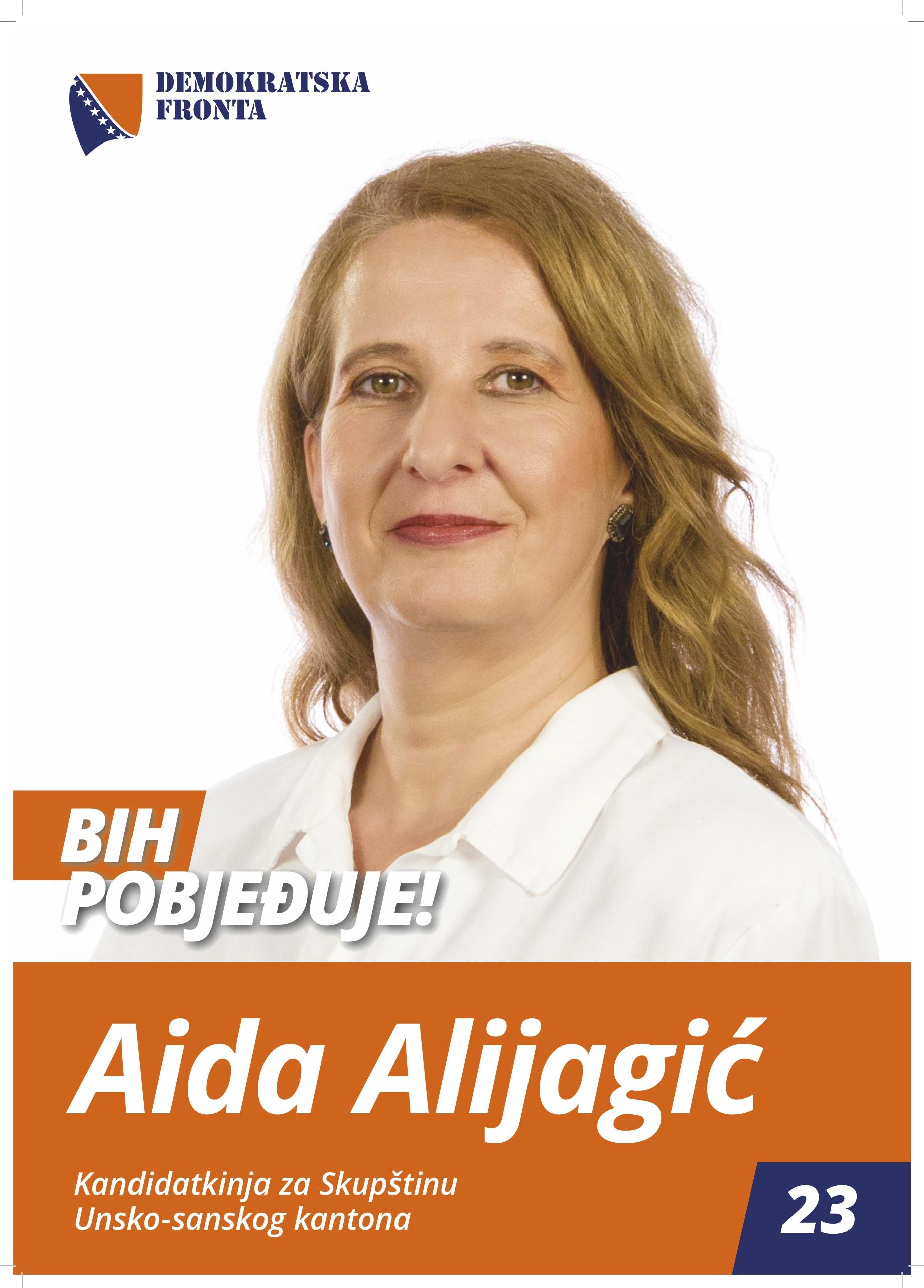 Aida Alijagić, inžinjer hemije