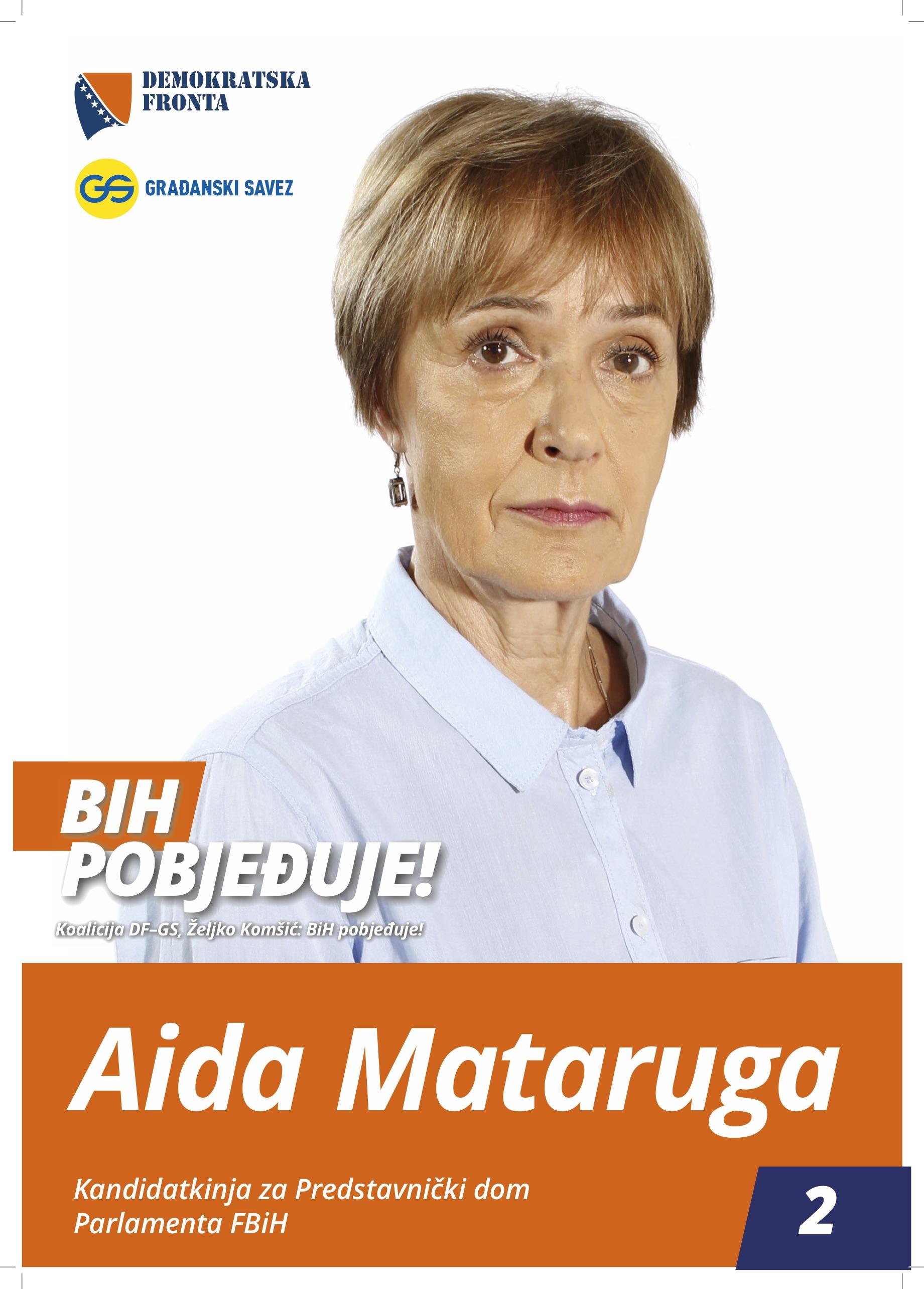 Aida Mataruga, doktor medicine, specijalista fizijatrije i rehabilitacije