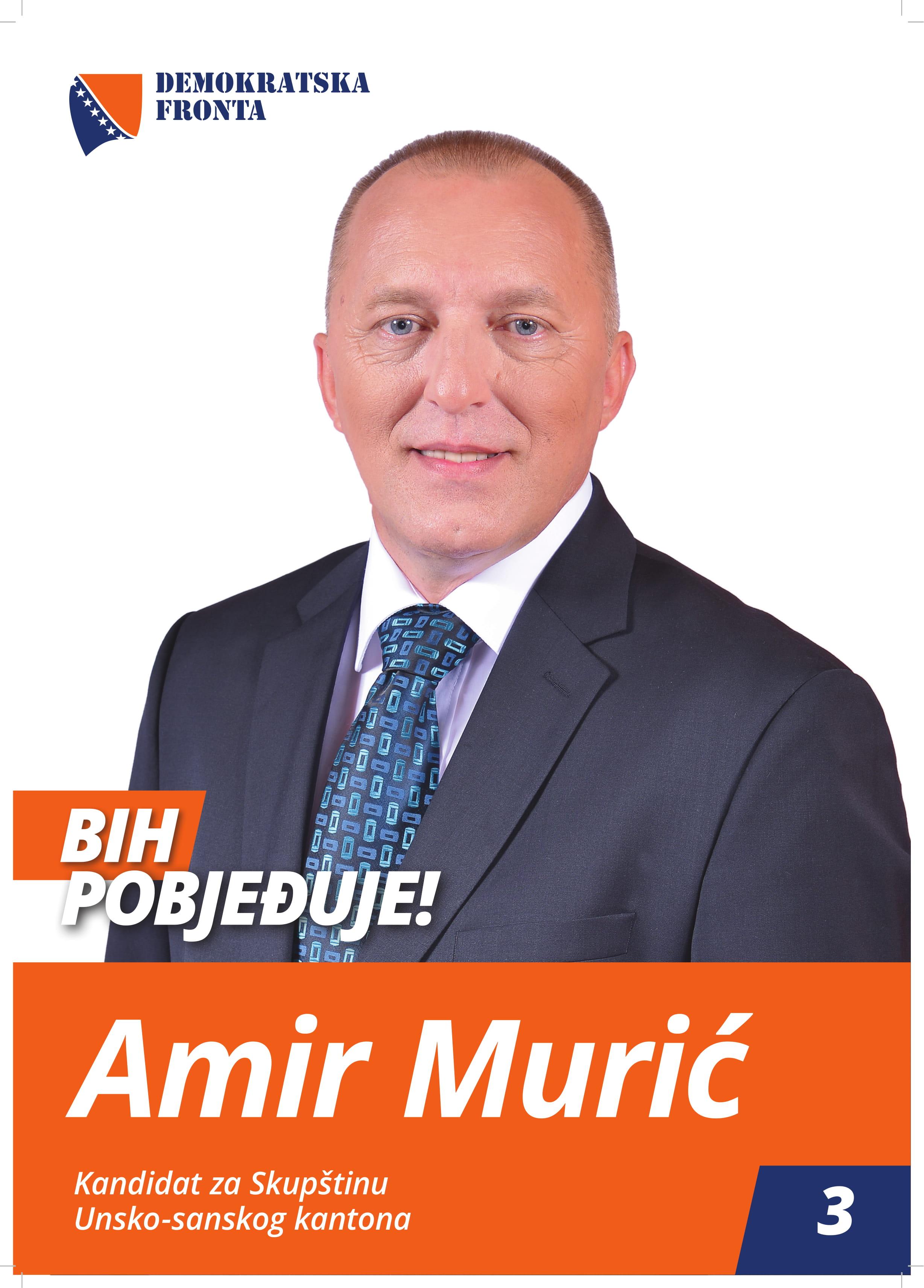 Amir Murić, doktor medicine, specijalista neuropsihijatar