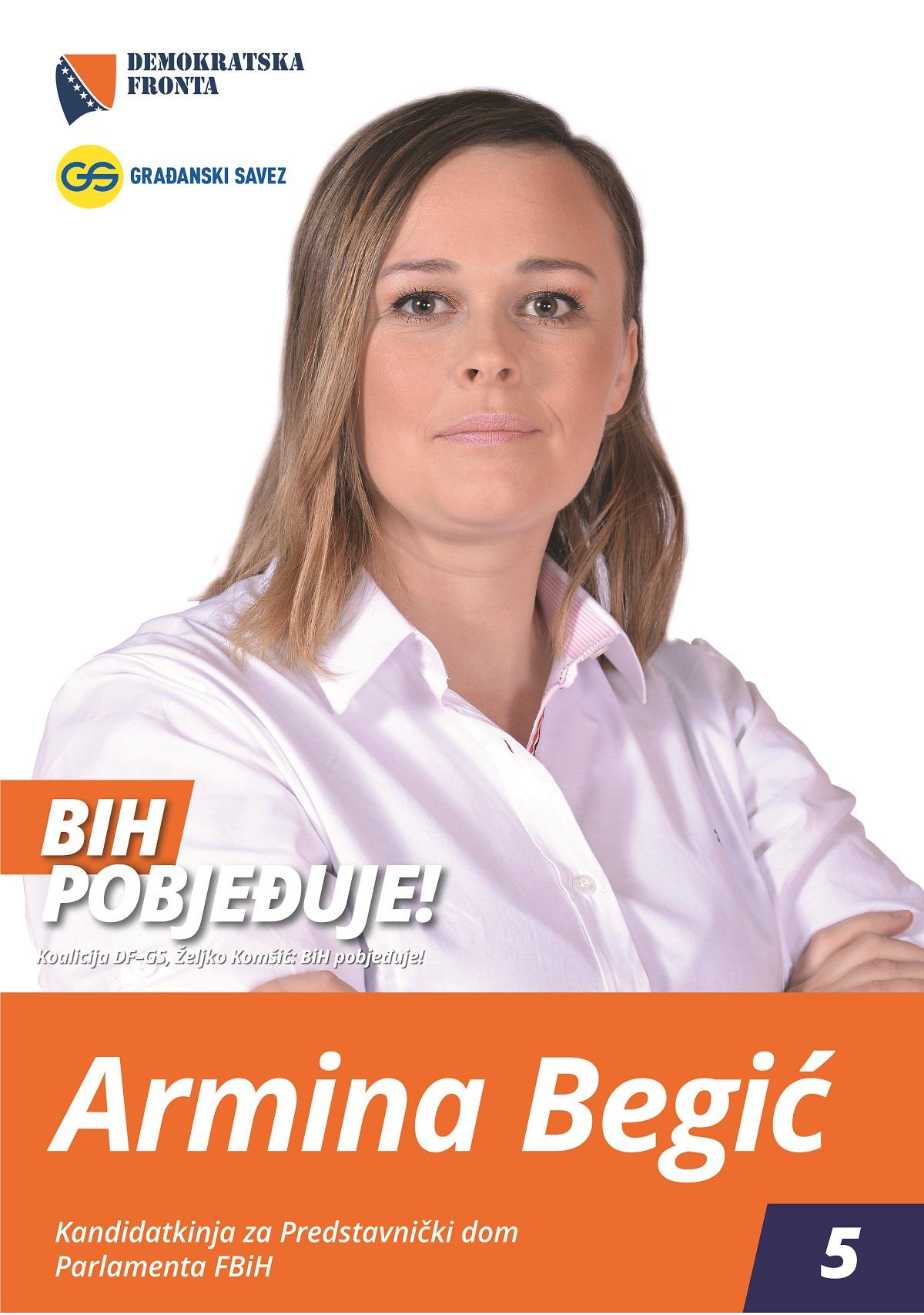 Armina Begić, diplomirani ekonomista