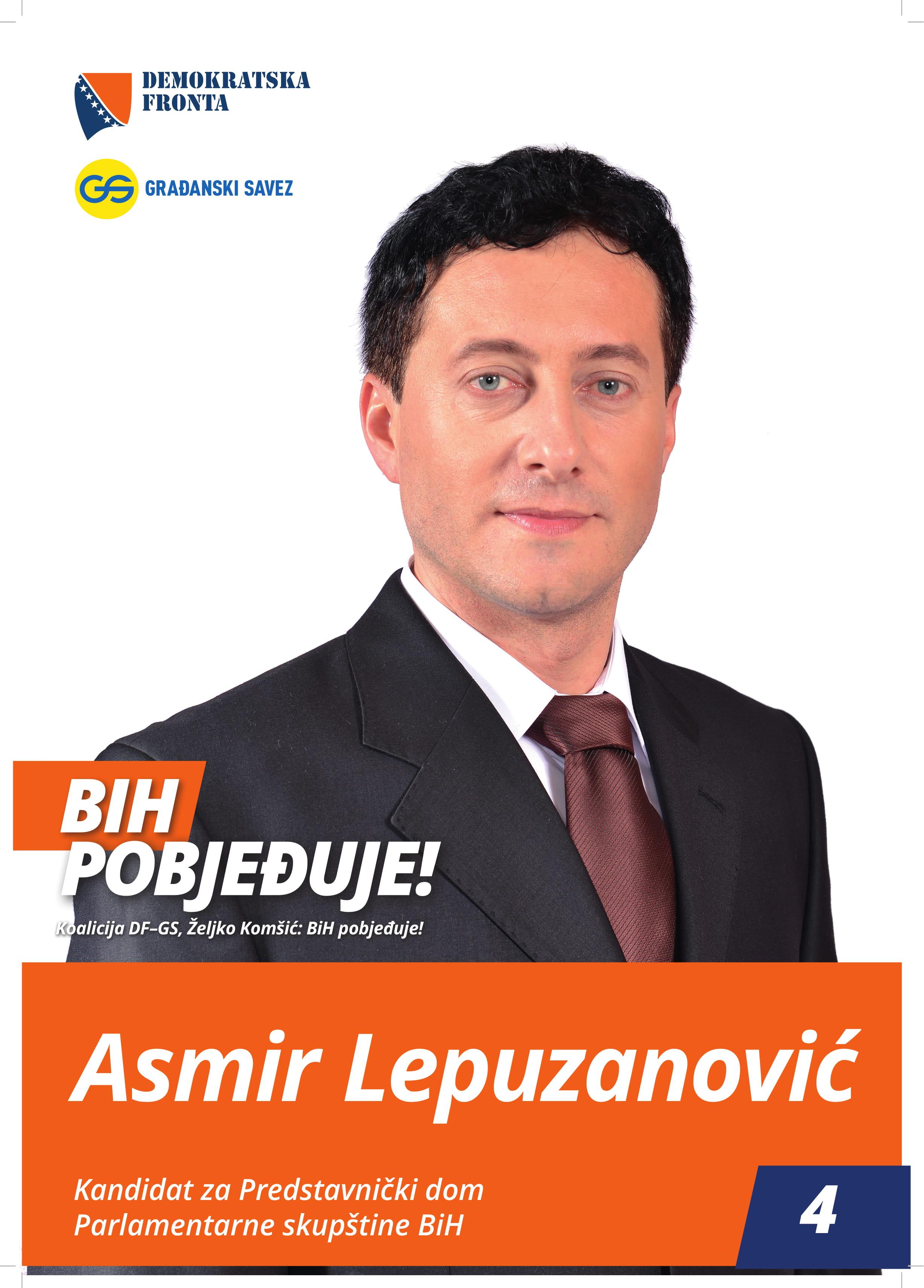 Asmir Lepuzanović, doktor medicine, specijalista porodične medicine