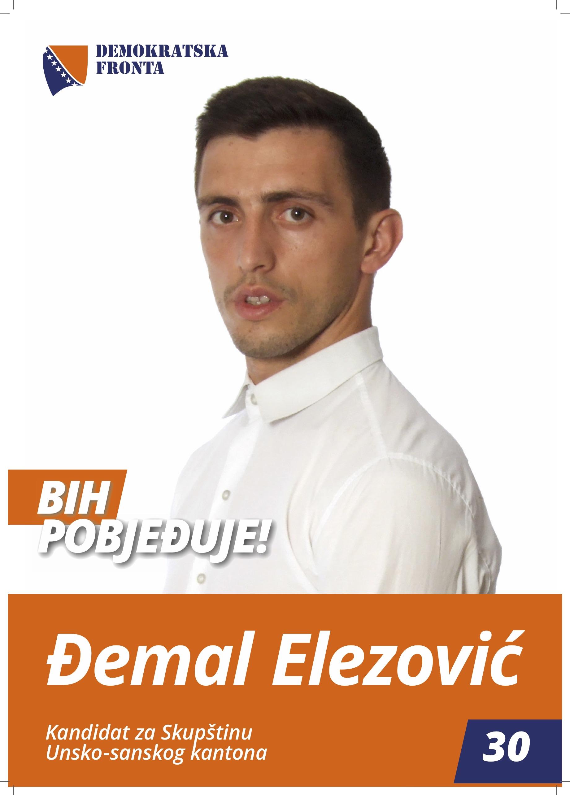 Đemal Elezović, inžinjer šumarstva