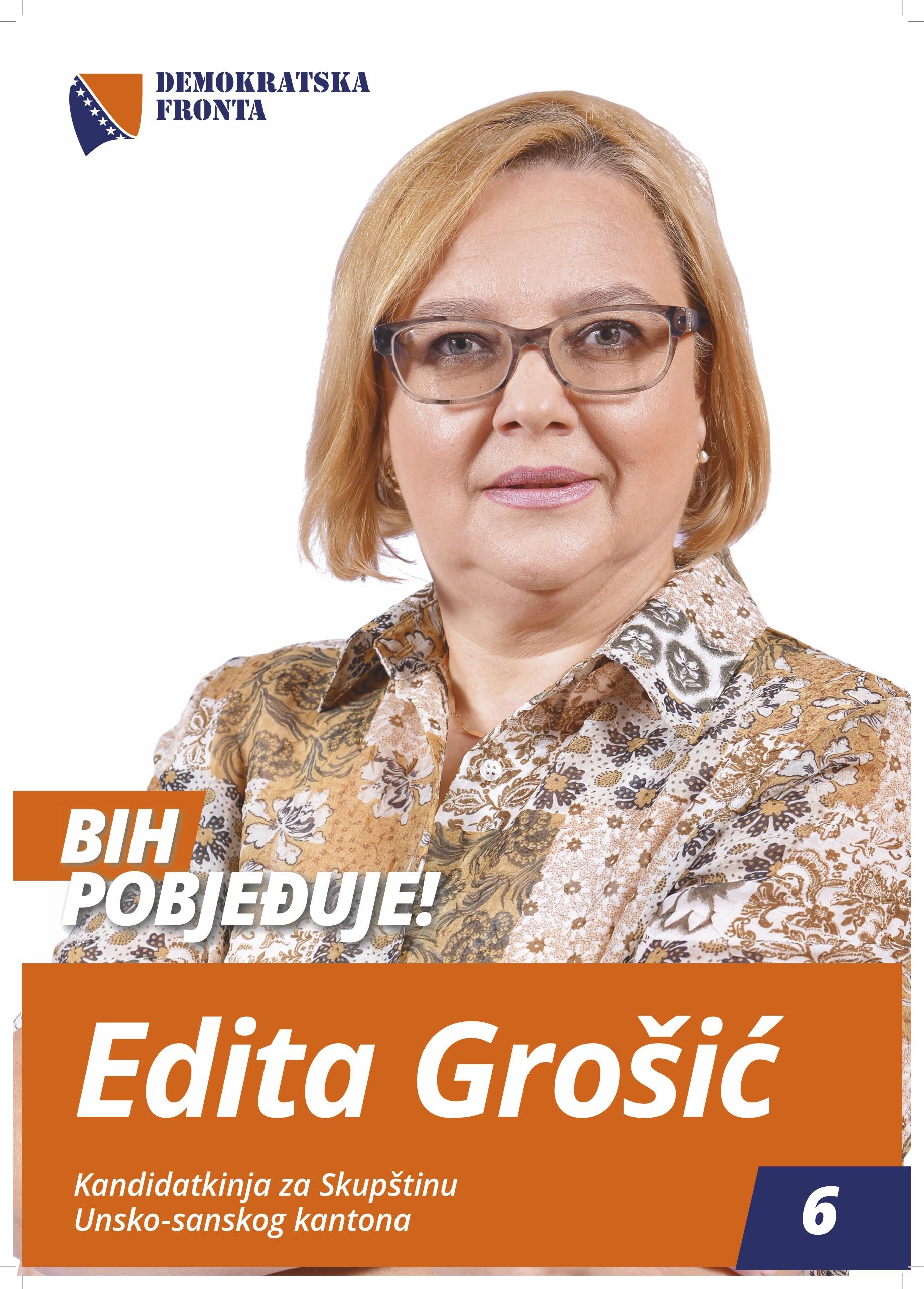 Edita Grošić, diplomirani inžinjer poljoprivrede
