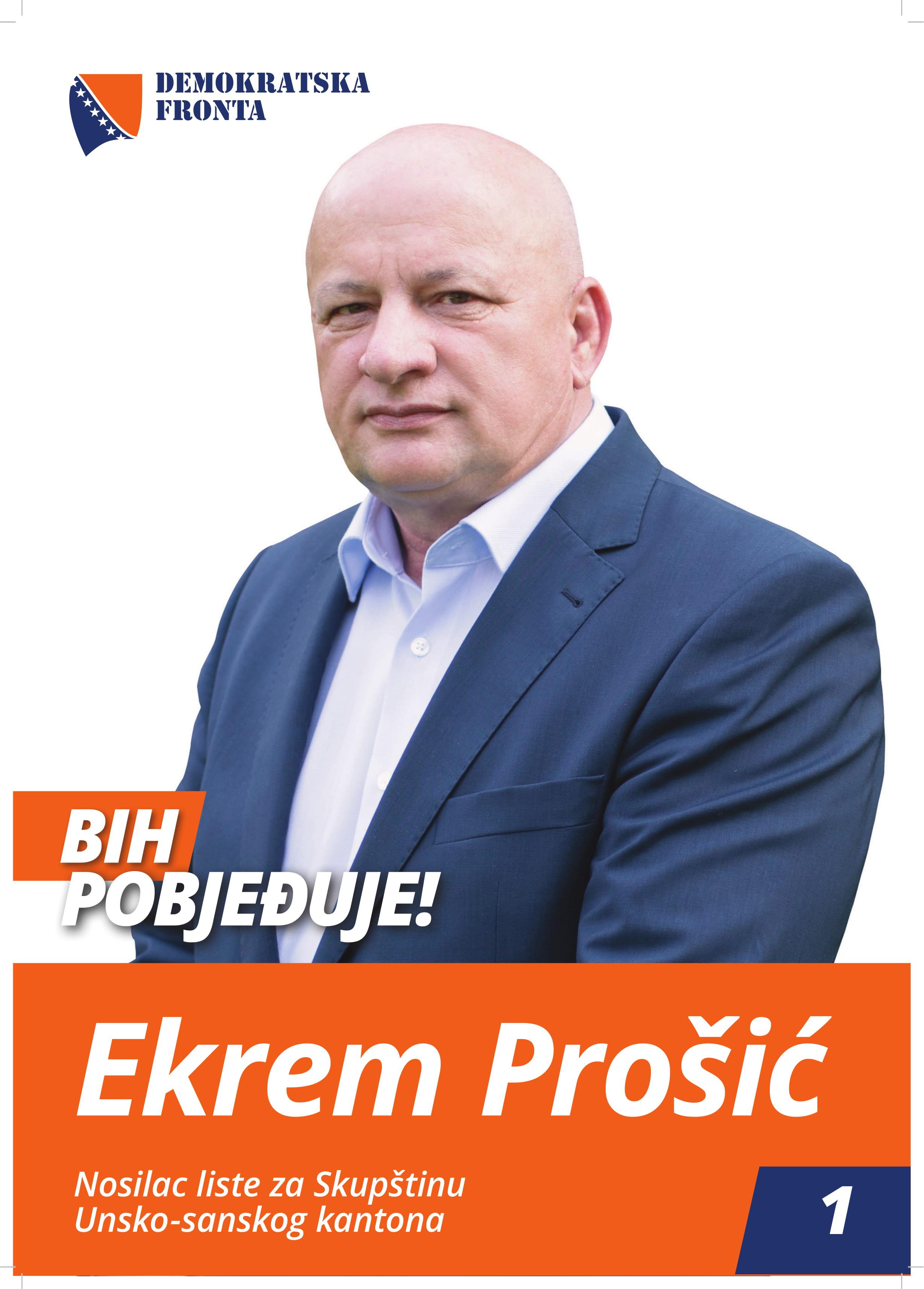 Ekrem Prošić, diplomirani pravnik