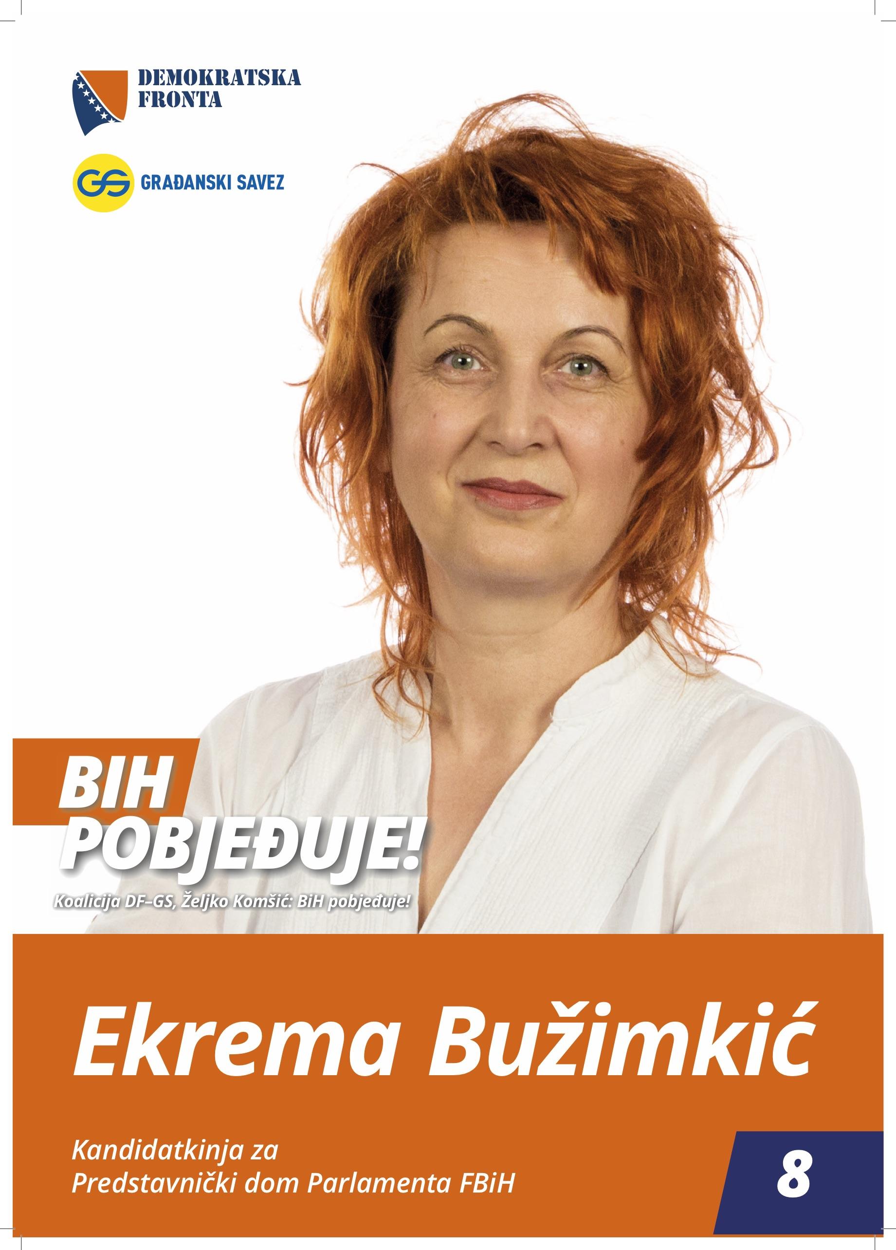 Ekrema Bužimkić, medicinska sestra