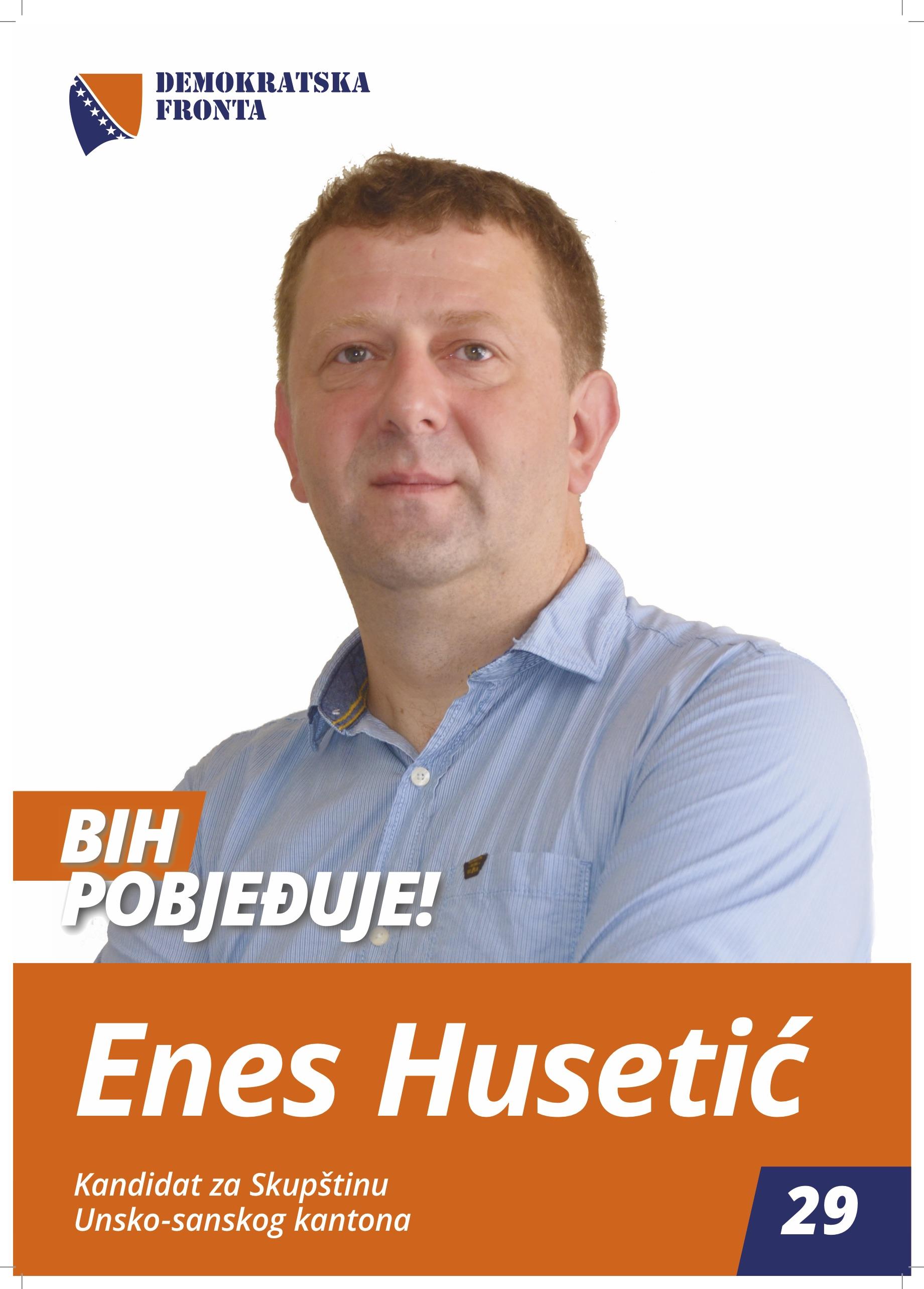 Enes Husetić, profesor njemačkog jezika