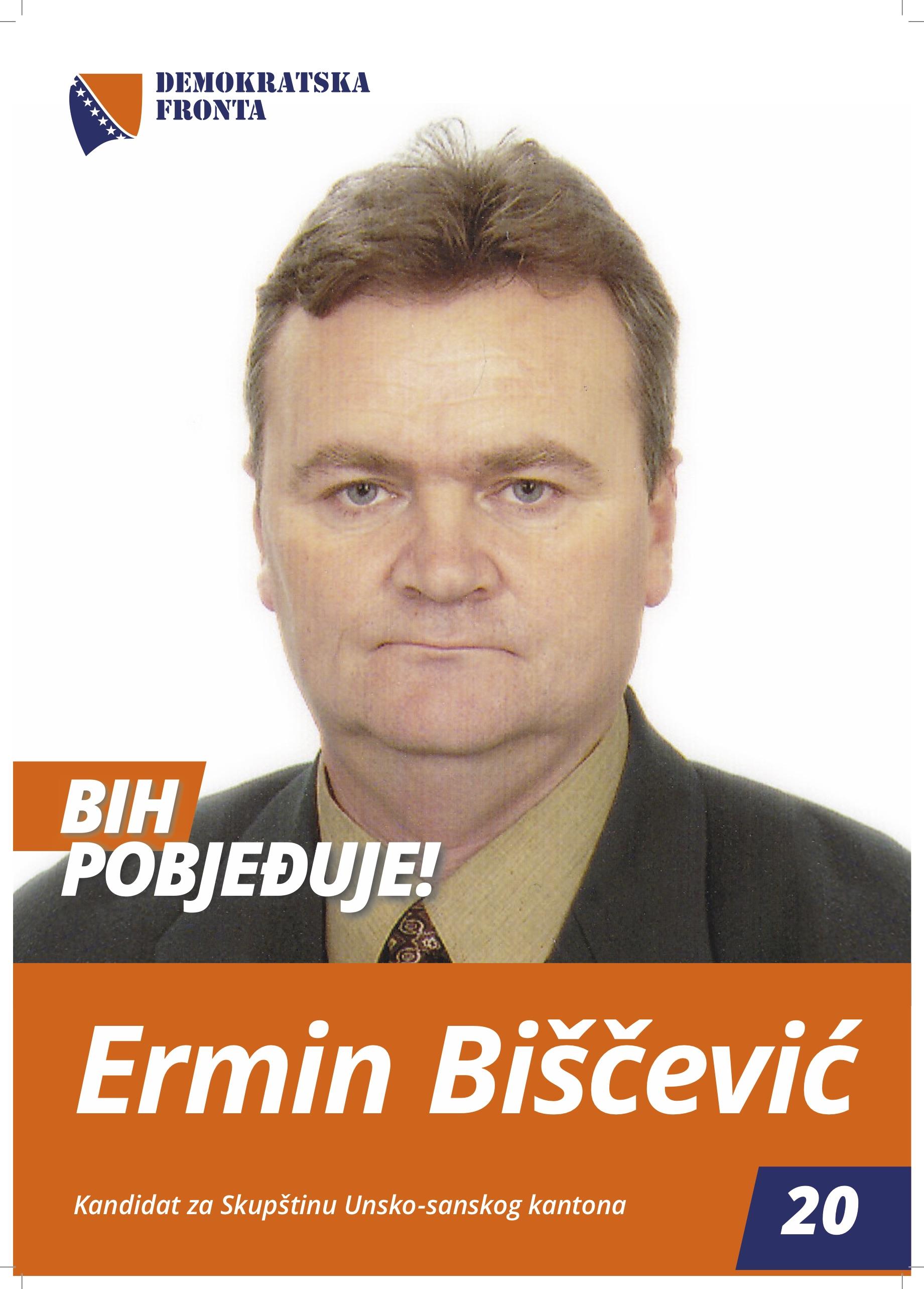Ermin Biščević, diplomirani ekonomista