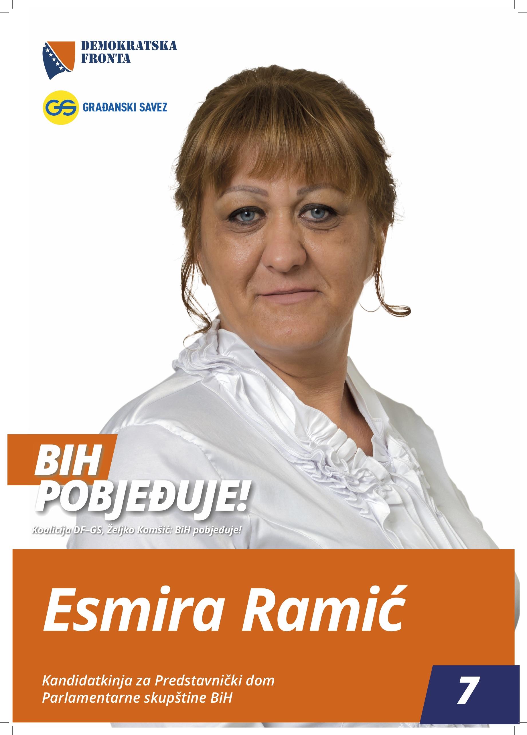Esmira Ramić, nastavnik razredne nastave