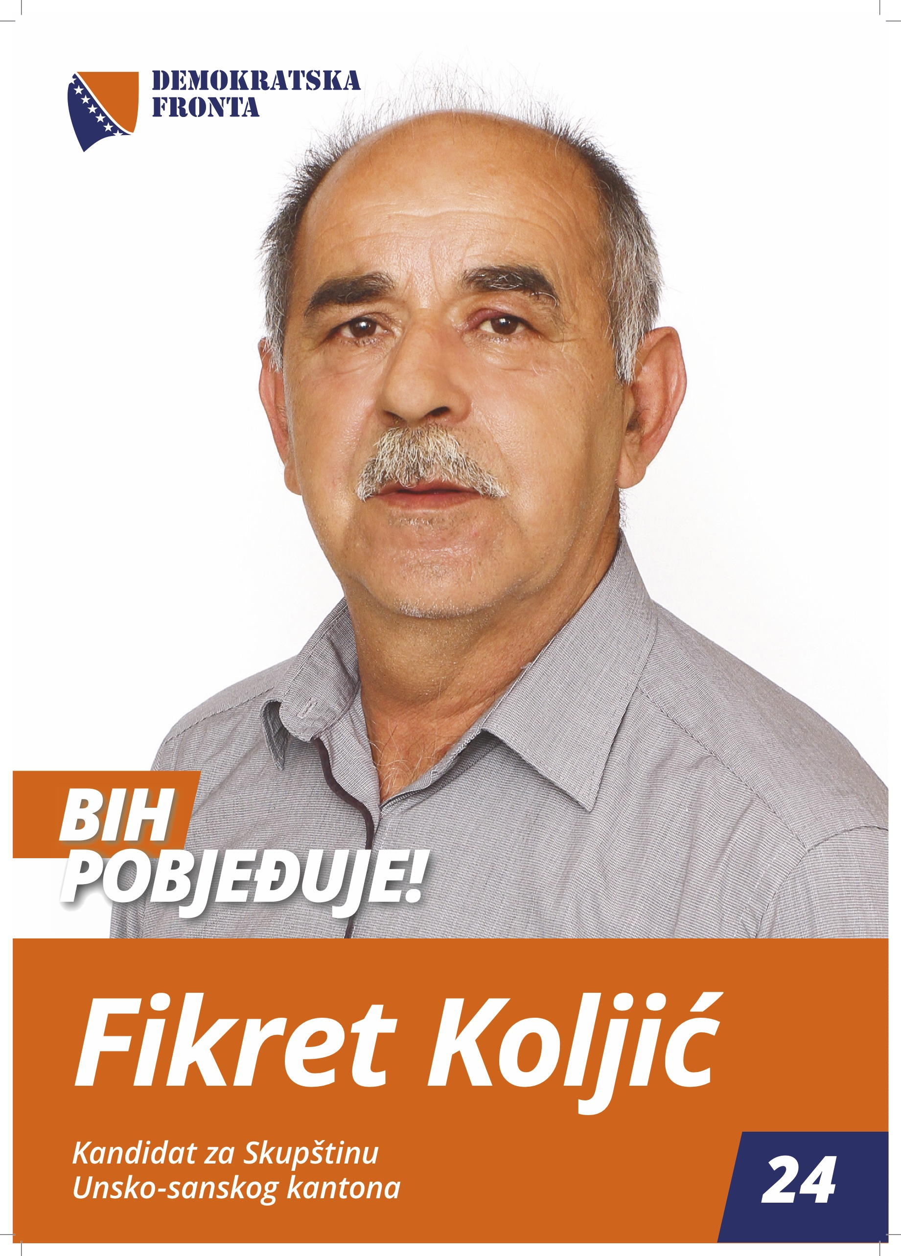 Fikret Koljić, medicinski tehničar