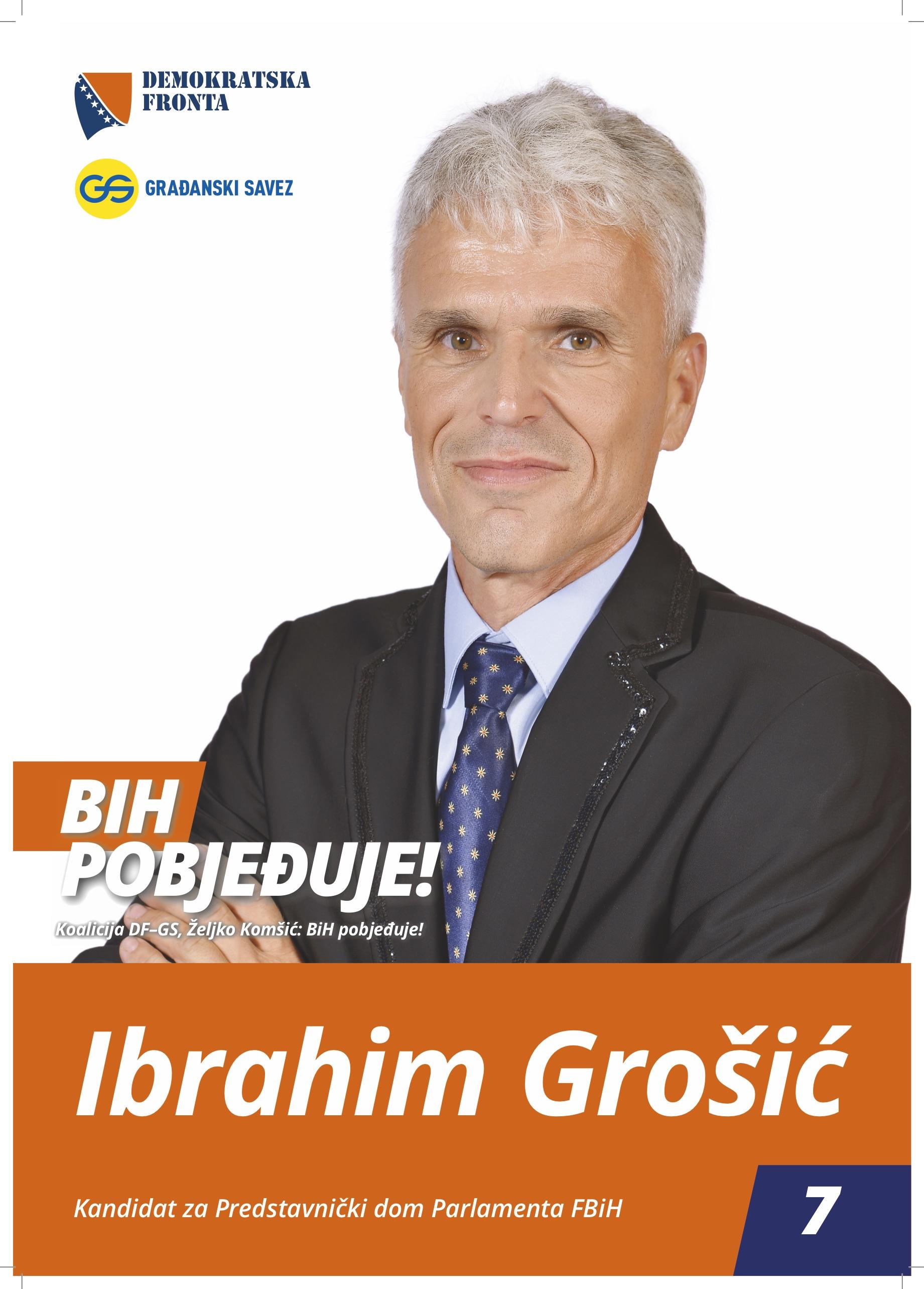 Ibrahim Grošić, diplomirani inžinjer poljoprivrede