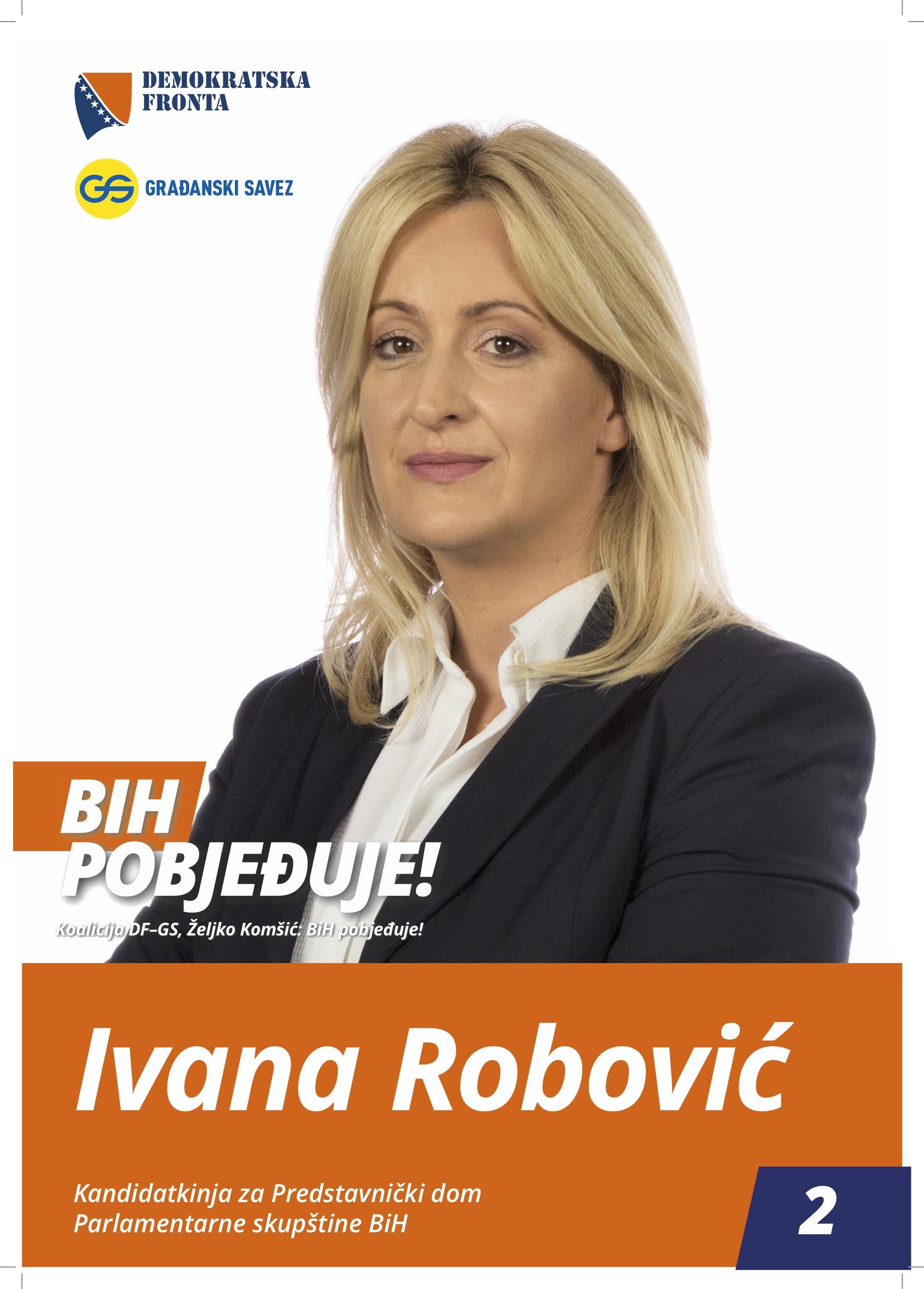 Ivana Robović, profesor hrvatskog i engleskog jezika
