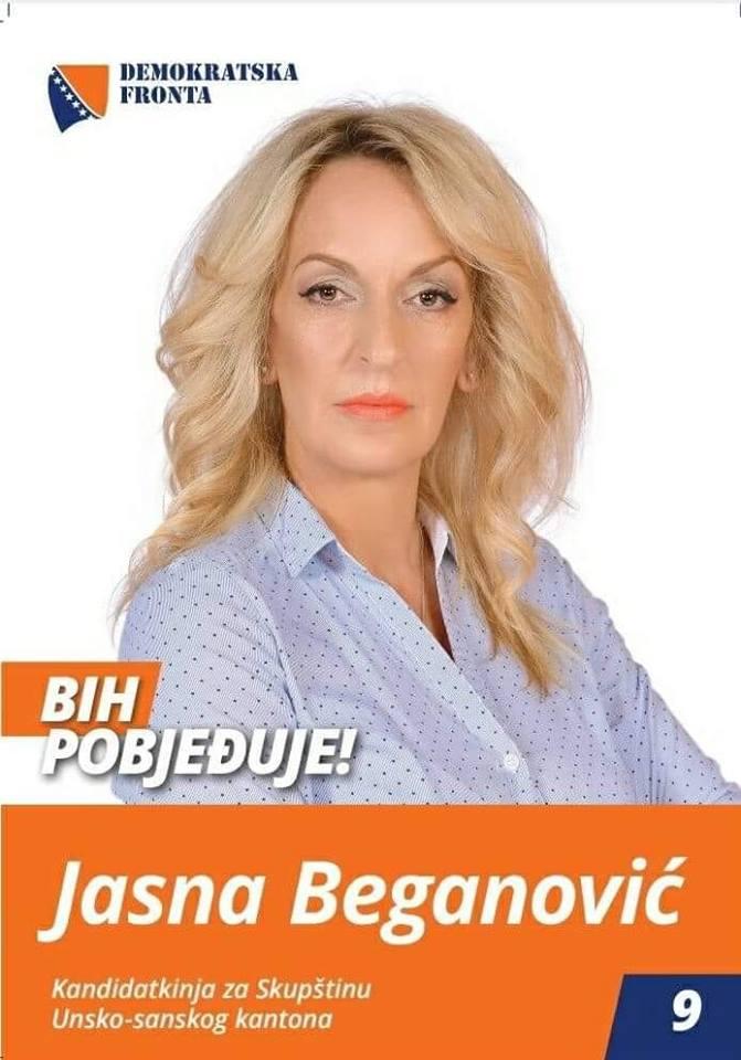 Jasna Beganović, bachelor tekstilnog dizajna i konfekcije
