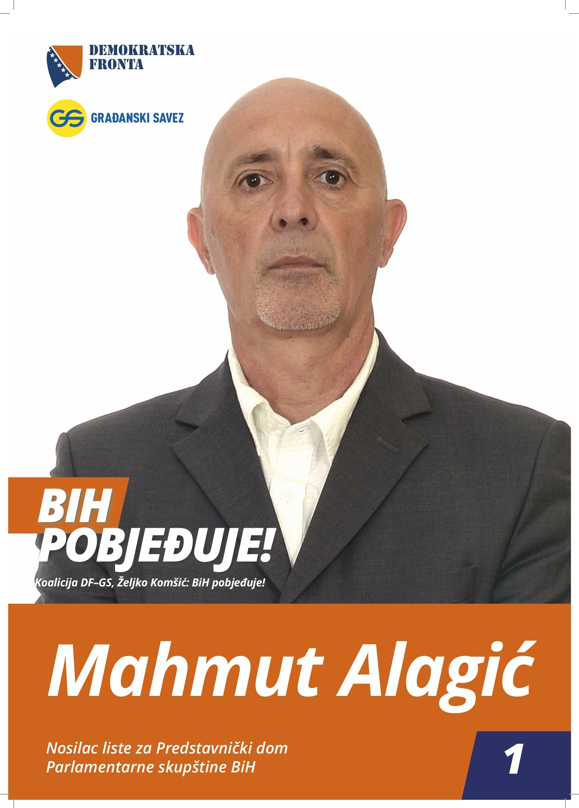 Mahmut Alagić, diplomirani pravnik