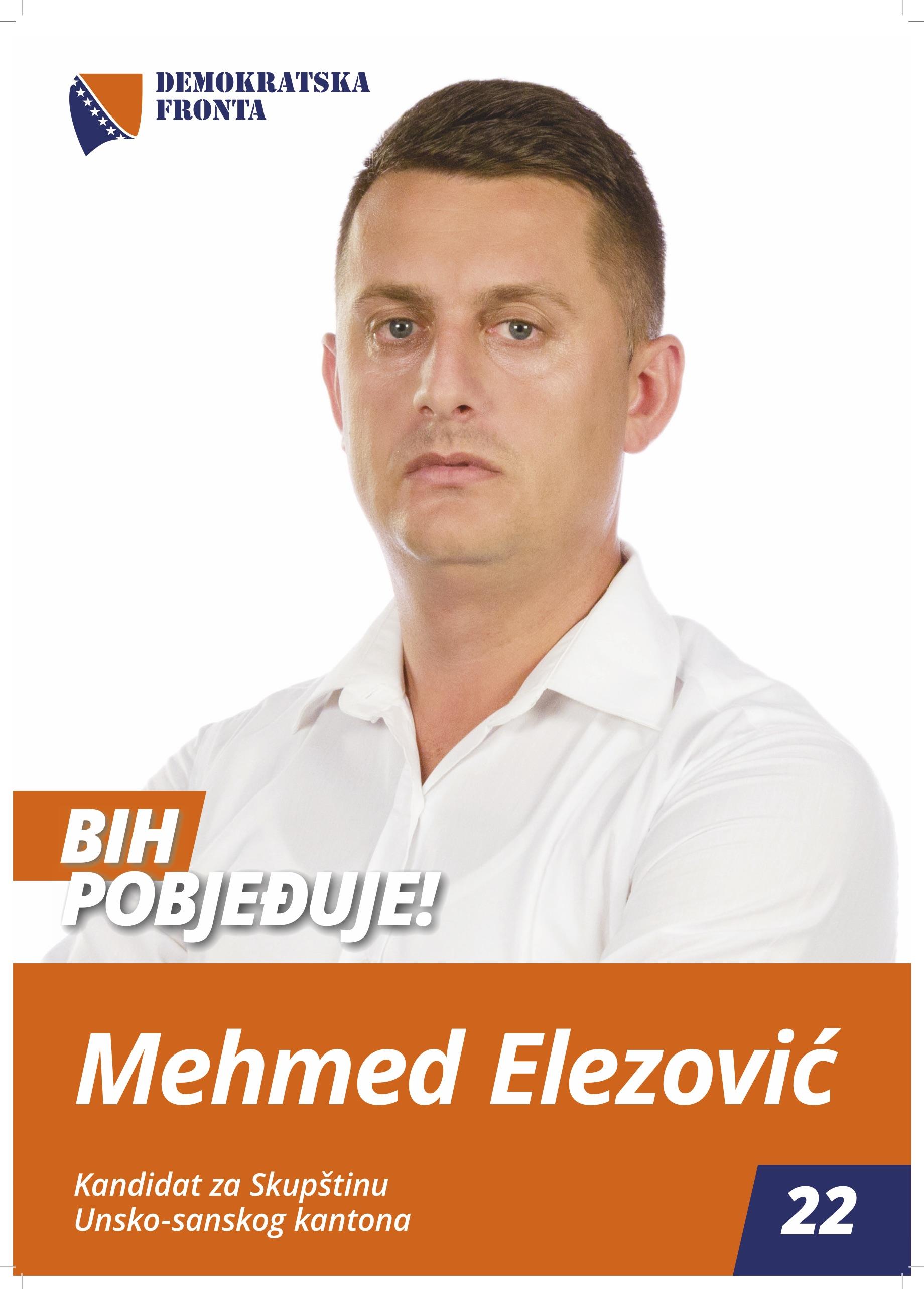 Mehmed Elezović, doktor medicine
