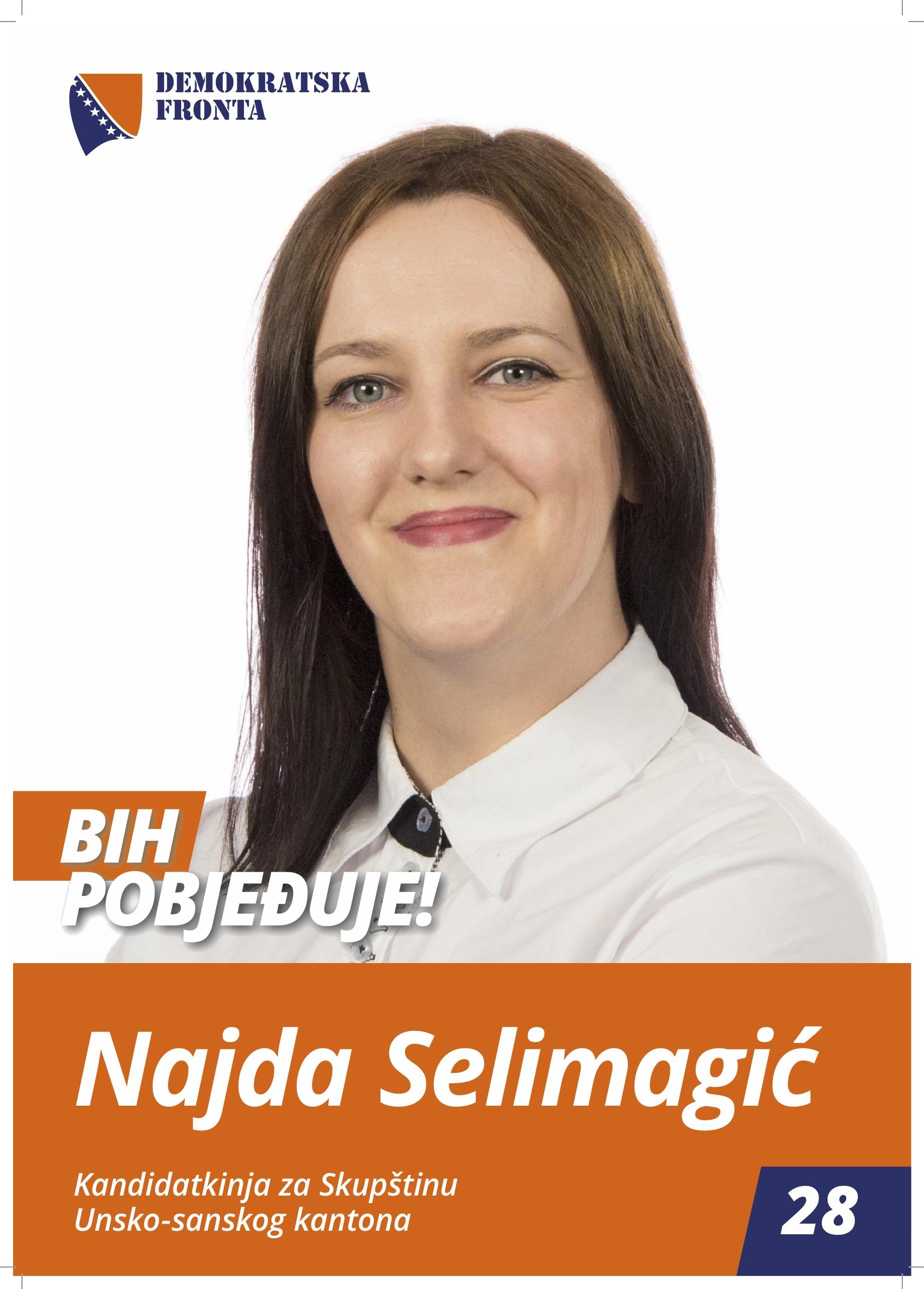 Najda Selimagić, sanitarni inžinjer
