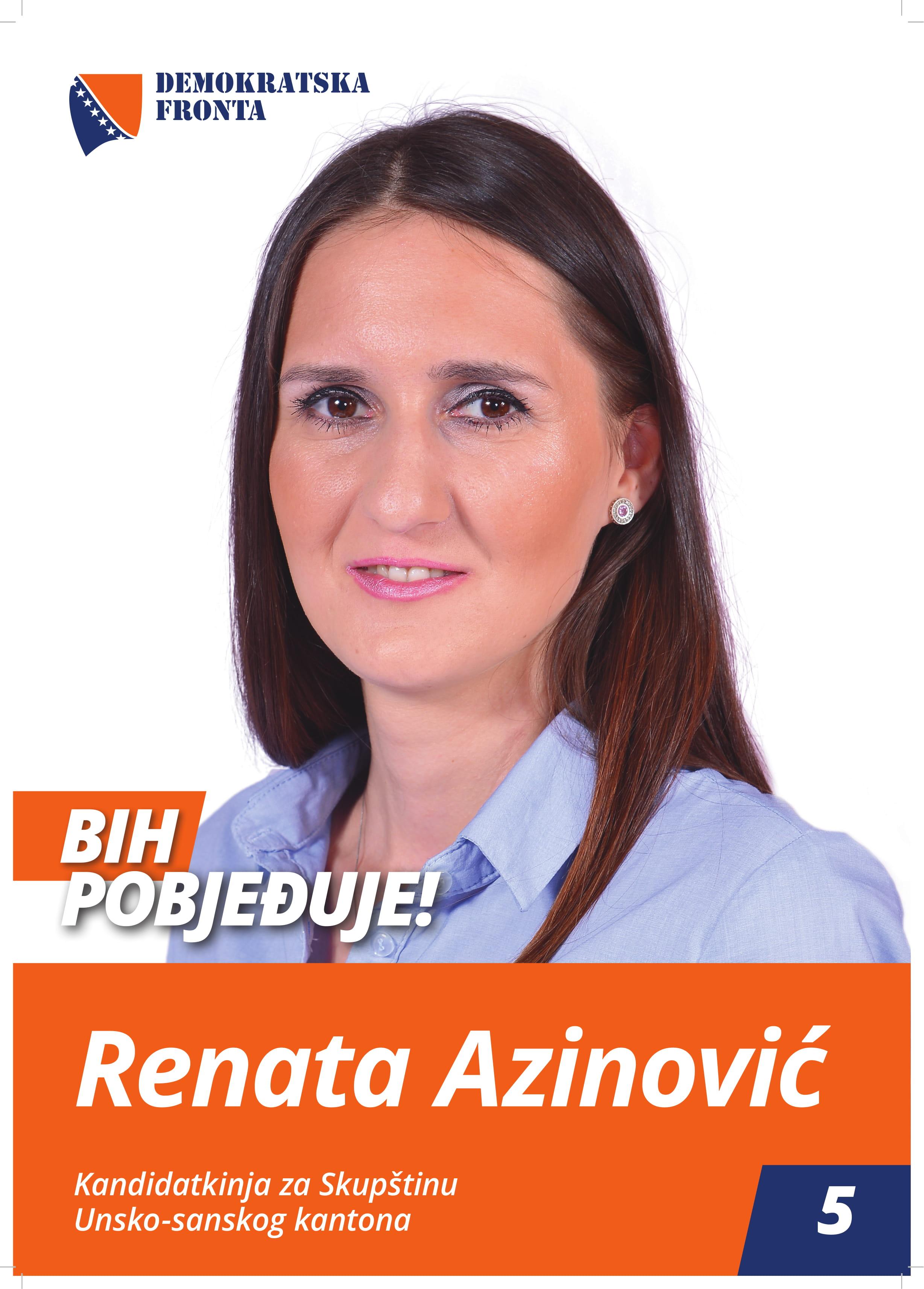 Renata Azinović, diplomirani menadžer