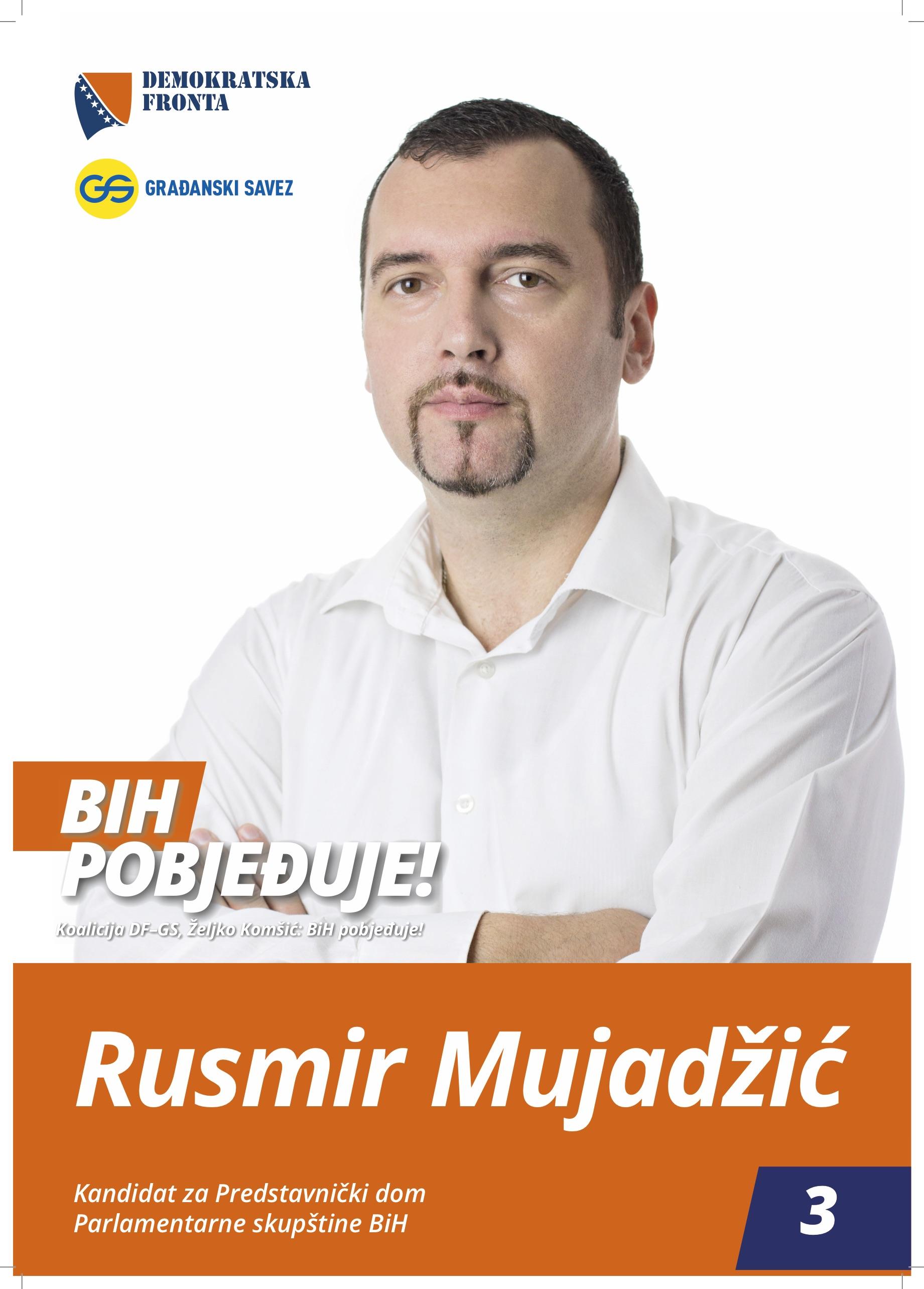 Rusmir Mujadžić, sanitarni inžinjer
