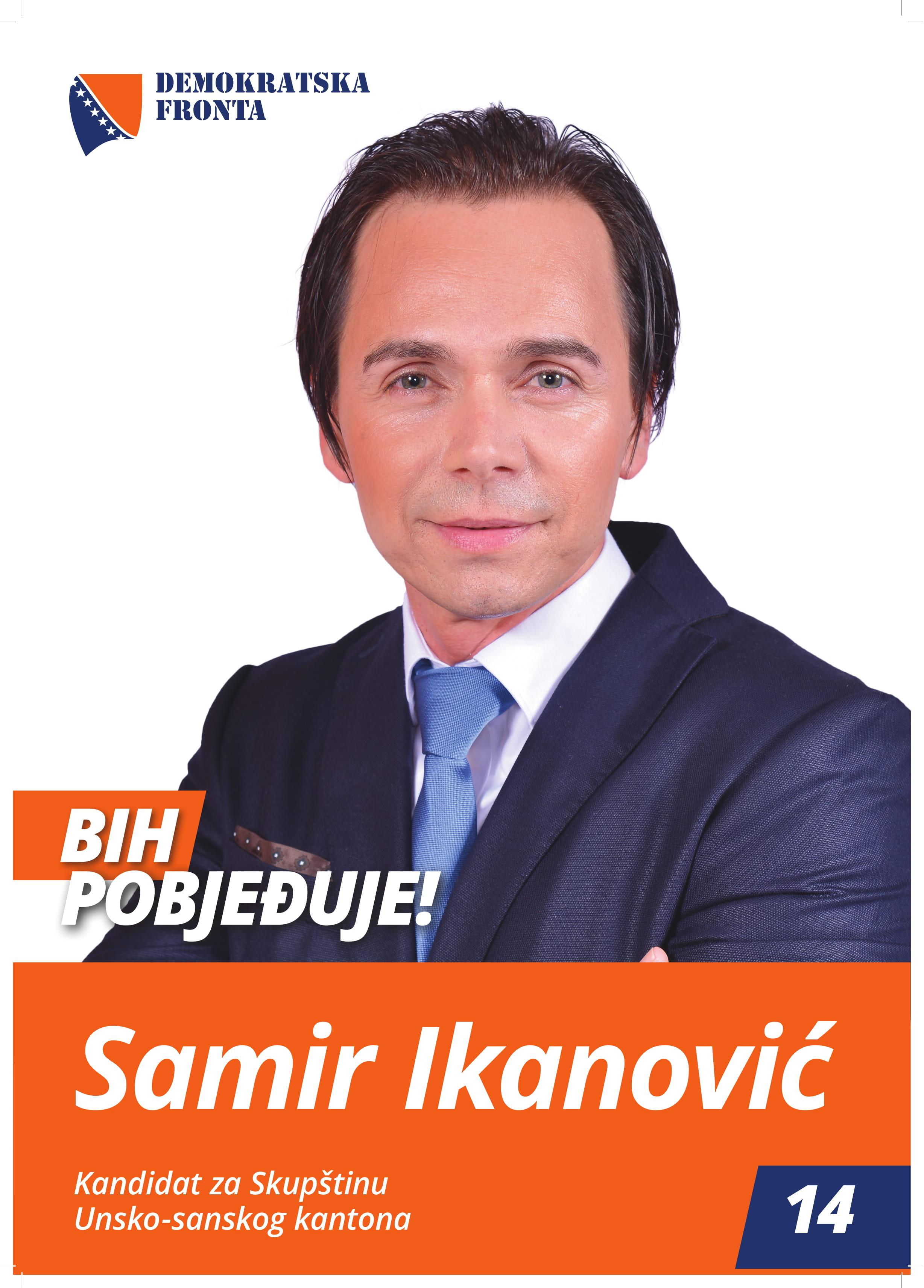 Samir Ikanović, diplomirani ekonomista