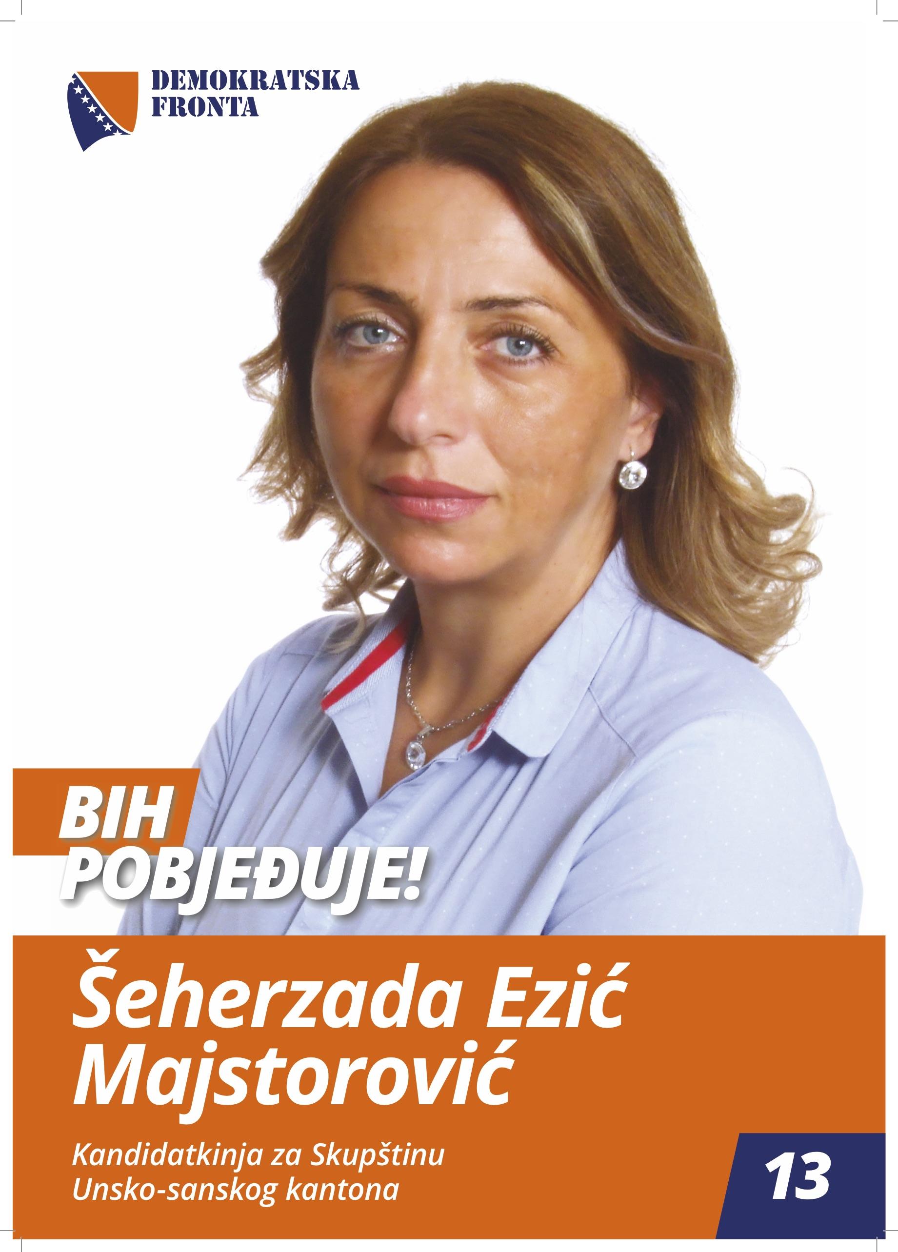 Šeherzada Ezić Majstorović, doktor medicine, specijalista