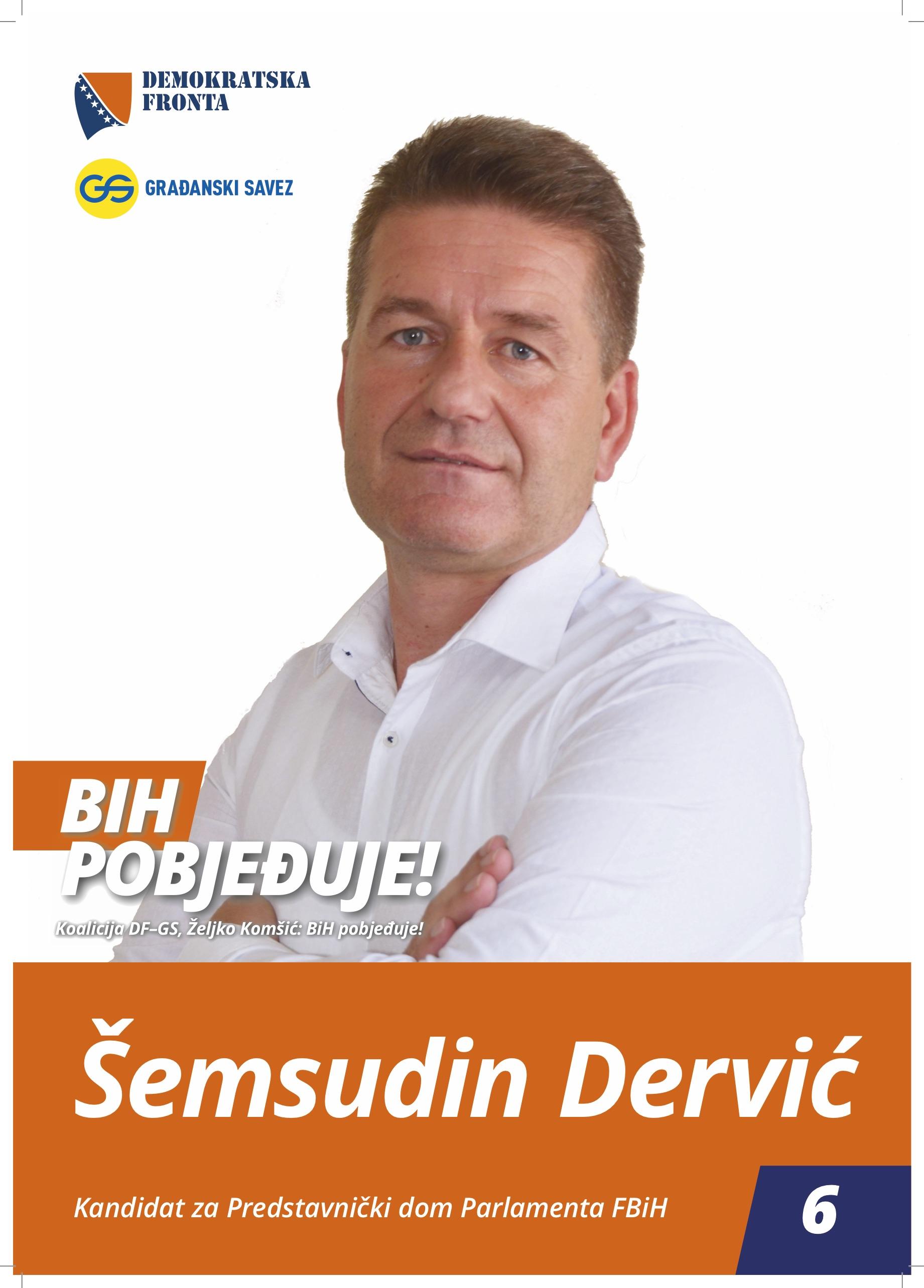 Šemsudin Dervić, doktor ekonomskih nauka