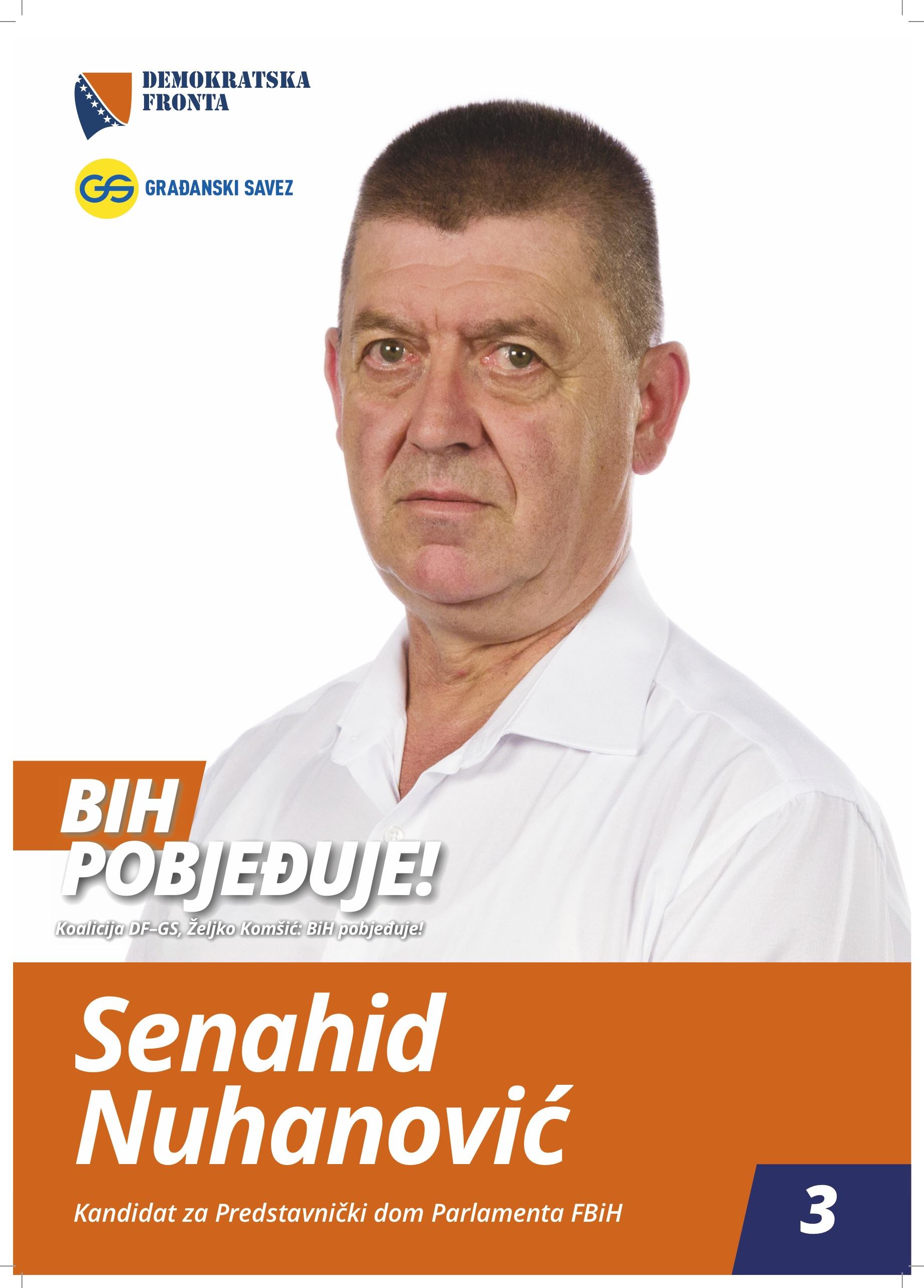 Senahid Nuhanović, diplomirani pravnik