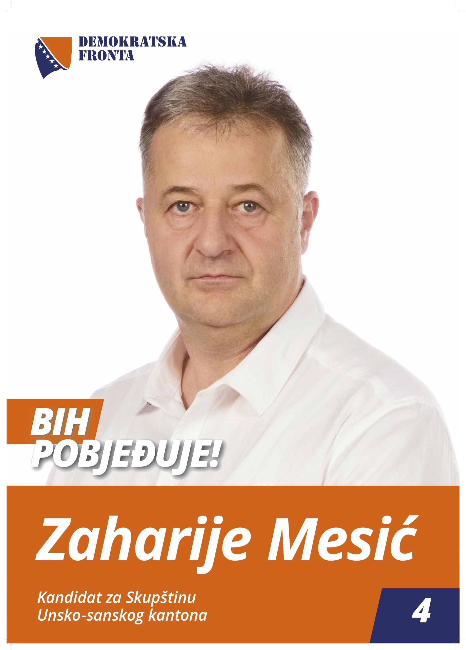 Zaharije Mesić, viši radiološki tehničar
