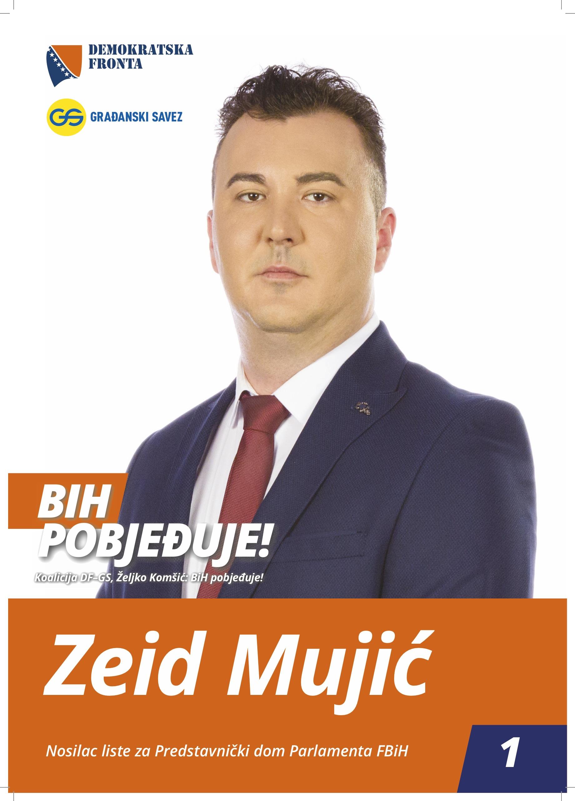 Zeid Mujić, magistar ekonomije