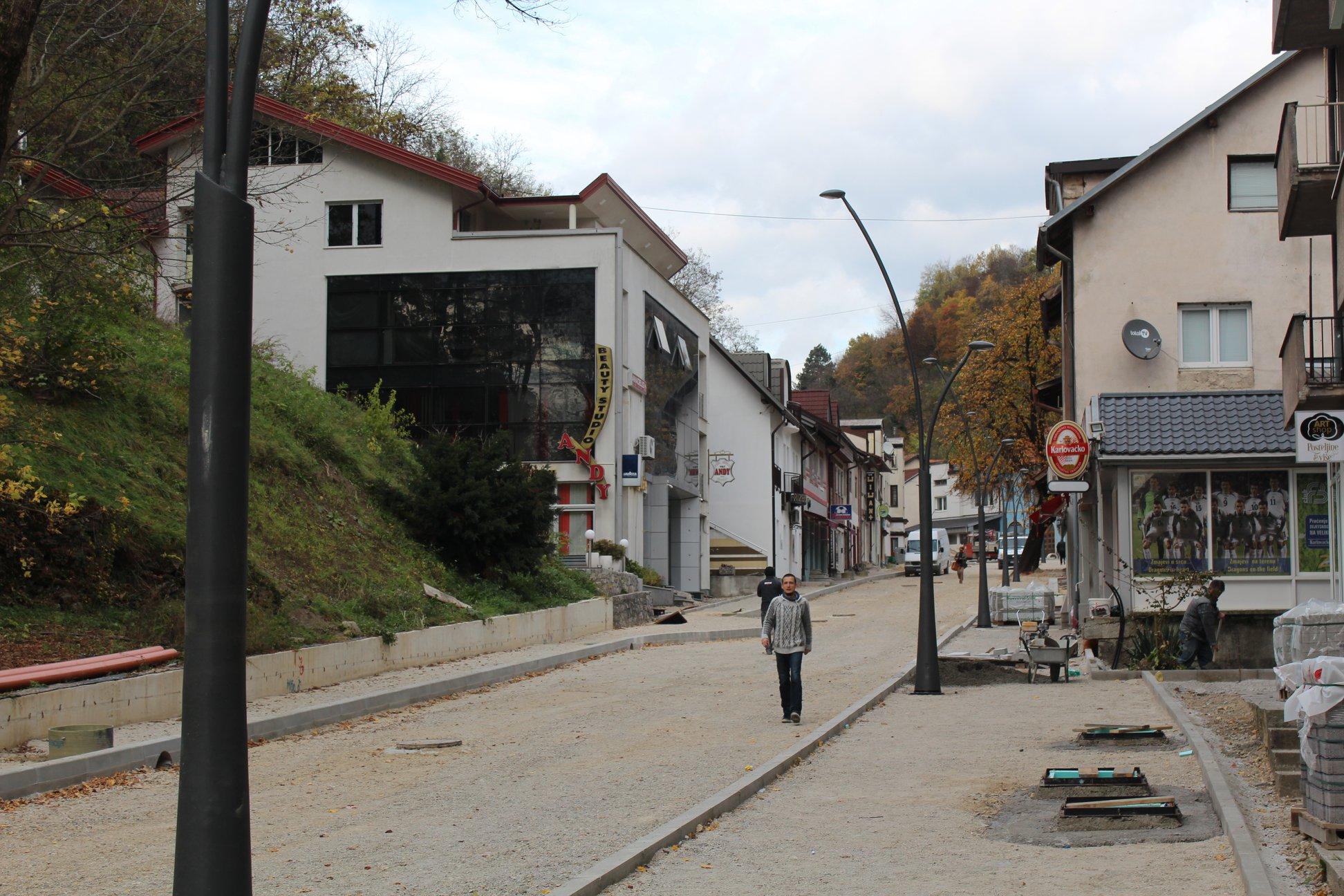 Realizacijom ovog projekta spomenuta ulica zasjat će u potpuno novom ruhu.