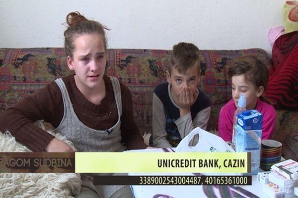 Broj žiro računa za pomoć porodici Hepić – Youtube/Screenshot