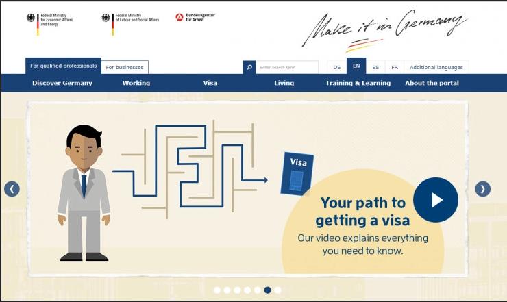 Web stranica za upoznavanje u Njemačkoj