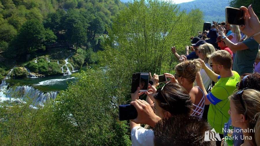 Rotary voz smaragdnom dolinom rijeke Une-promocija prirodne baštine u NP Una