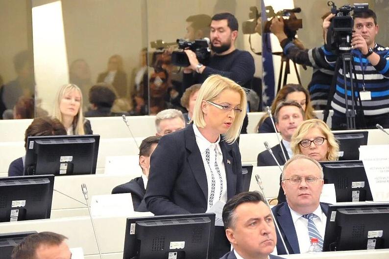 Novaković-Bursać: U BiH se ne nalaze migranti nego dobro finansirani mladići