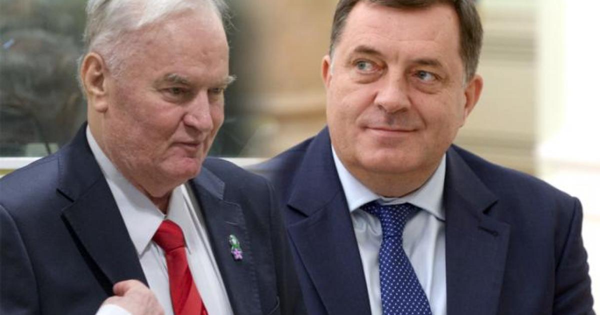 Rezultat slika za Obilježavanje rođendana Milorada Dodika i ratnog zločinca Ratka Mladića u Dnevniku RTRS-a